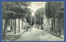 AMSTELVEEN, Dorpsstraat. Gelopen kaart.