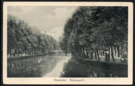 AMSTERDAM, Keizersgracht. Ongelopen kaart.