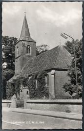 DIEPENHEIM (O), N.H. Kerk. Ongelopen kaart.