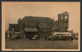 AMERSFOORT, Station. Ongelopen fotokaart.
