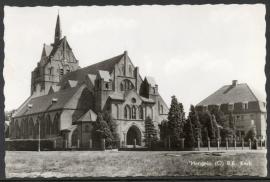 HENGELO, R.K. Kerk. Gelopen kaart.