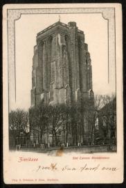 ZIERIKZEE, Sint Lievens Monstertoren. Ongelopen kaart.