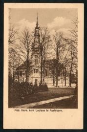 APELDOORN, Ned. Herv. Kerk Loolaan te Apeldoorn. Ongelopen kaart.
