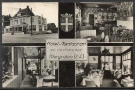 MARGRATEN. Hotel - Restaurant DE FRUITVEILING Margraten (Z.L.). Gelopen kaart.