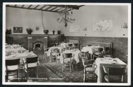 OOSTERBEEK, Restaurant v.d. Westerbouwing. Gelopen kaart.