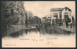 AMERSFOORT, Luntersche Beek. Gelopen kaart.