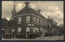 HOOGKERK, Groet uit Hoogkerk. Gelopen fotokaart.