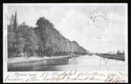 JUTFAAS, Merwede kanaal. Gelopen kaart.