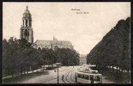 ARNHEM, Groote Markt. Gelopen kaart.