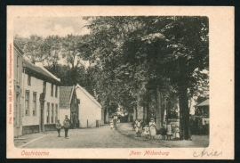 OOSTVOORNE, Naar Mildenburg. Gelopen kaart.