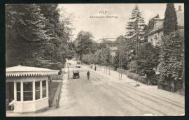 VELP, Arnhemsche straatweg. Gelopen kaart.