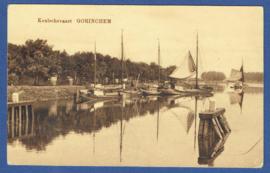 GORINCHEM, Keulschevaart. Gelopen kaart.