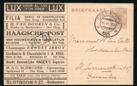 Particulier postwaardestuk, T.I.B.O. (Lux voor al uw fijn goed Lux).