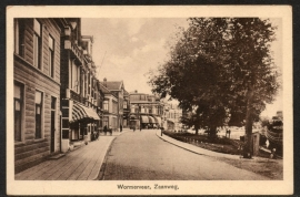 WORMERVEER, Zaanweg. Ongelopen kaart.