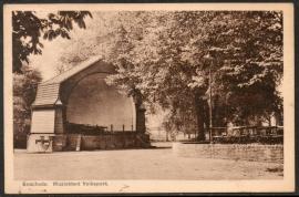 ENSCHEDE, Muziektent Volkspark. Gelopen kaart.