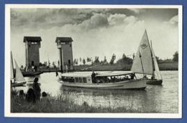 HENGELO, De Waarbeek. Ongelopen kaart.