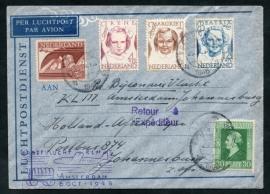 PROEFVLUCHT KLM AMSTERDAM 6 OCT 1946. NEDERLAND-ZUID-AFRIKA.