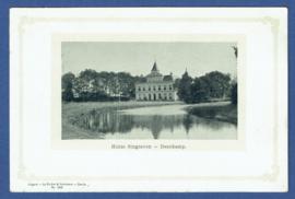 DENEKAMP, Huize Singraven. Ongelopen kaart.