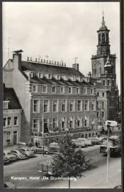 KAMPEN, Hotel De Stadsherberg. Ongelopen kaart.