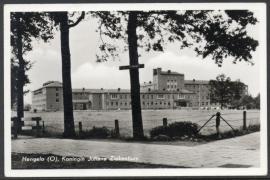 HENGELO, Koningin Juliana Ziekenhuis. Gelopen kaart.