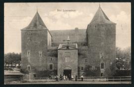 GORINCHEM, Slot Loevestein. Gelopen kaart.