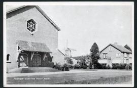 PUTTEN, Nieuwe Herv. Kerk. Gelopen kaart.