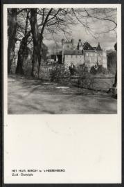 `s-Heerenberg. Het Huis Bergh te `s-Heerenberg. Ongelopen kaart.