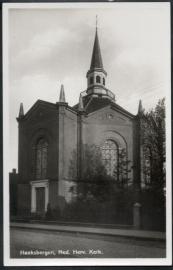 HAAKSBERGEN, Ned. Herv. Kerk.  Ongelopen kaart.