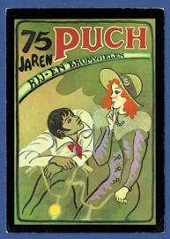 PUCH, 75 Jaren rij- en bromwielen. Jubileum kaart. Ongelopen.