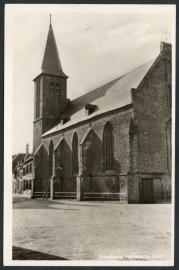 DOESBURG, Luthersche Kerk. Gelopen kaart.