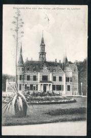 LOCHEM, Bloeiende Aloe voor den Huize De Cloese bij Lochem. Gelopen kaart.