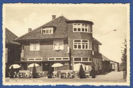 BORNE, Hotel-Café-Rest. 't Schip. Ongelopen kaart.