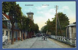 AMSTELVEEN, Dorpsstraat. Ongelopen kaart.