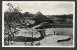 APELDOORN, Berg en Bosch. De 4 Watervallen. Ongelopen kaart.