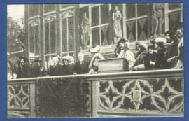 's HERTOGENBOSCH, Oud 's Hertogenbosch. Gelopen kaart. Met cinderella's