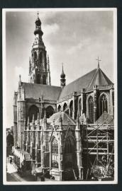 BREDA, O.L. Vr. Kerk. Gelopen kaart.