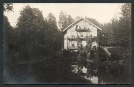 VELP, Hotel Beekhuizen. Fotokaart. Gelopen kaart.