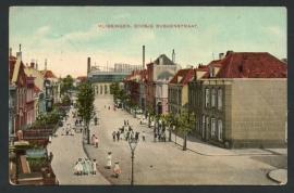 VLISSINGEN, Coosje Buskenstraat. Gelopen kaart.