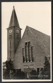 OMMEN, Geref. Kerk te Ommen. Ongelopen kaart.