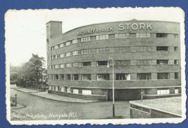 HENGELO (O), Industrieplein. Gelopen kaart (machinefabriek STORK).