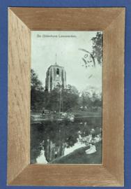 LEEUWARDEN, De Oldenhove. Gelopen kaart.