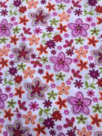 wit paarse bloemen