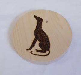 Rond houten plankje voor shampoo bar (4)