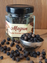 Magun - Zwarte Peperkorrels Bio 25 gram