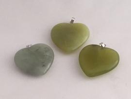groene jade hart