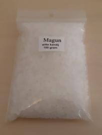 100 gram hele kleine, geslepen, witte kandijklontjes