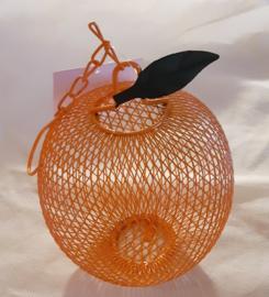 Pinda feeder sinaasappel metaal