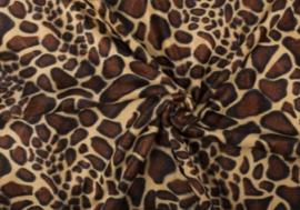 Dierenprint velboa Giraffe