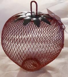 Pinda feeder aardbei metaal