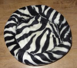 Mandje zebra print